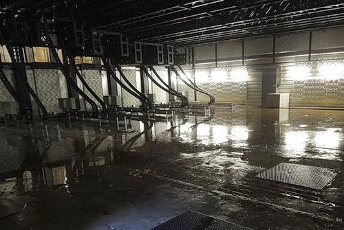 Theater geflutet